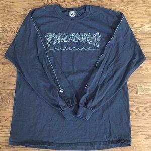 Thrasher long sleeve Tee